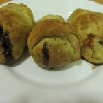 stuffed pastry pears
