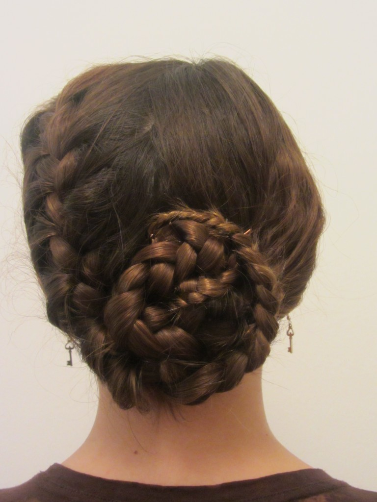 Hair Tutorial Double Wrapped Braided Up Do Summer S