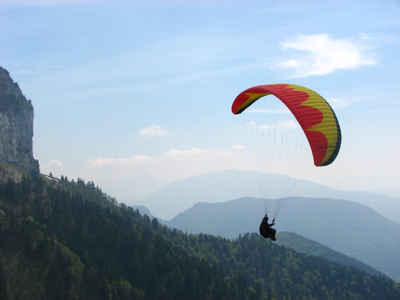 Paragliding Near Le Bourne Summer S Adventures