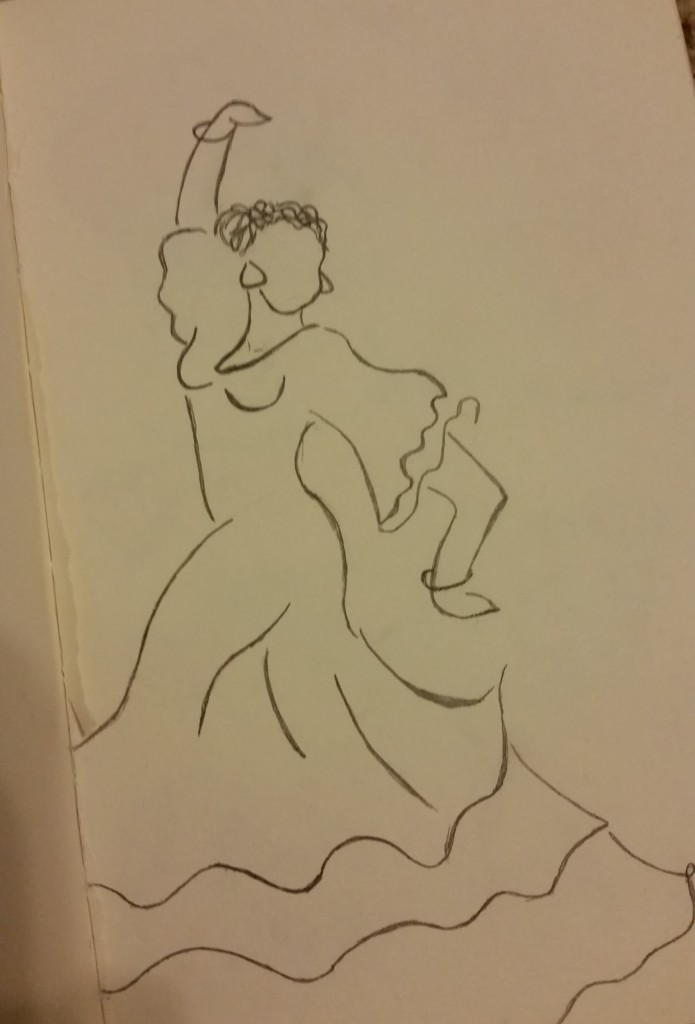 flamenco dancer quote