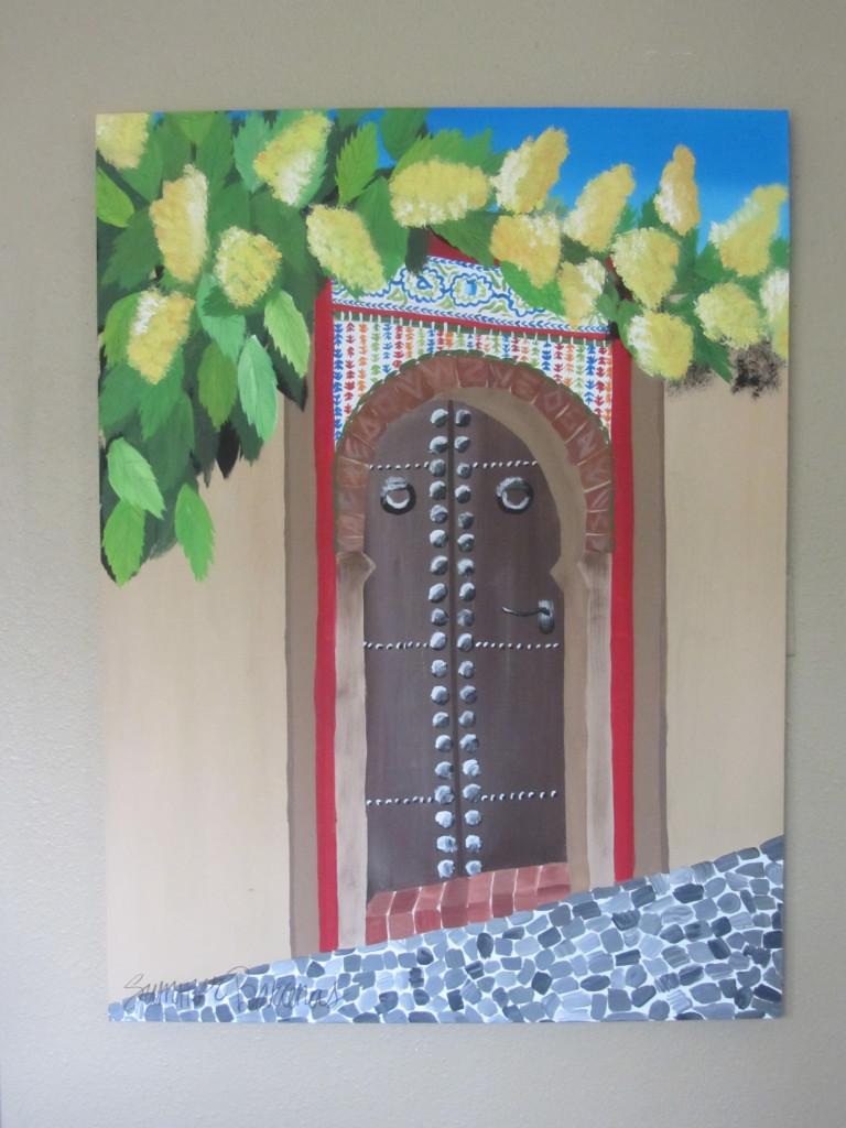 granada spain painting