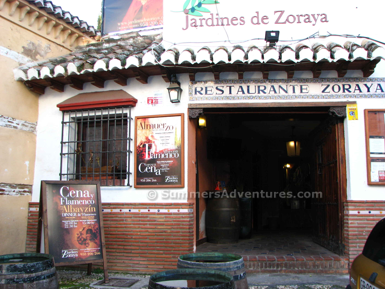 Jardines de zoraya granada summer 39 s adventures for Jardines de zoraya granada