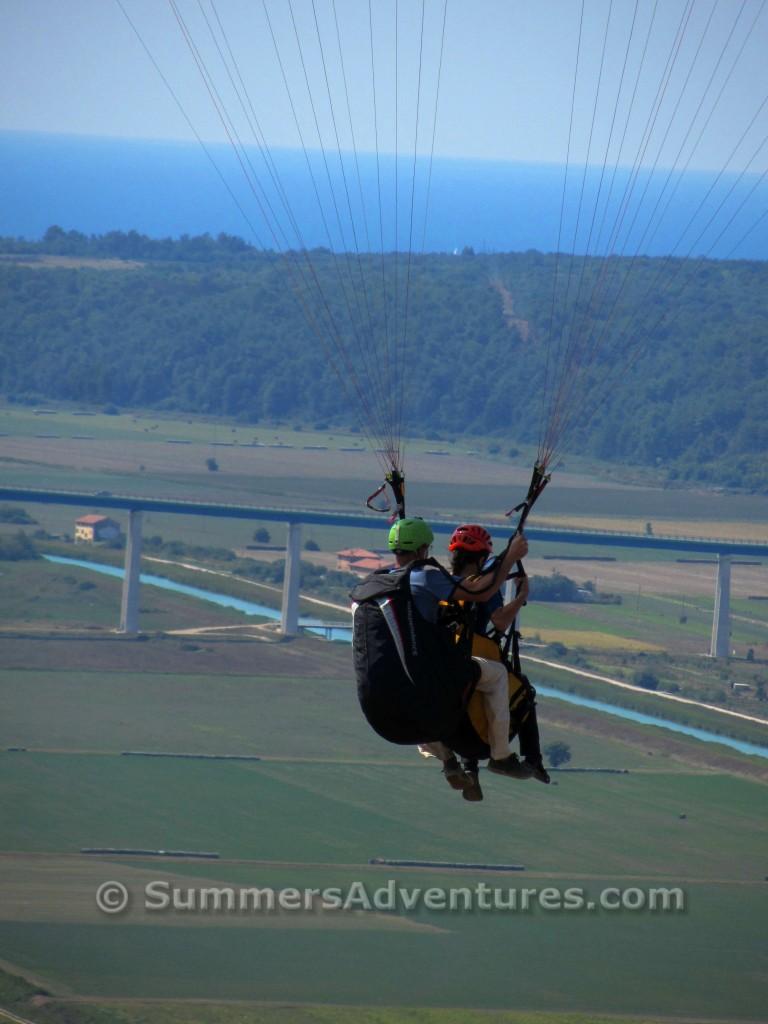Paragliding Motovun