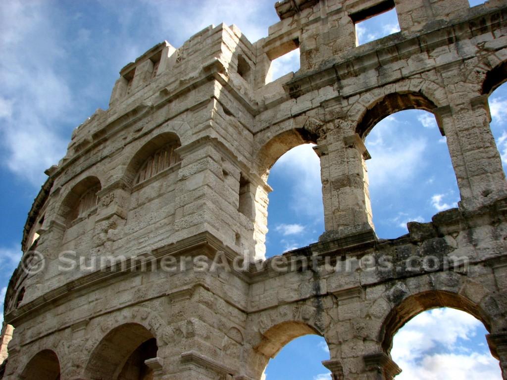 Croatian colosseum