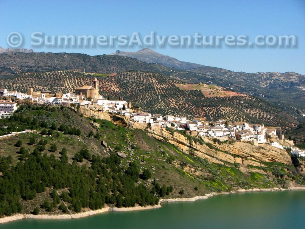 Iznajar and lake