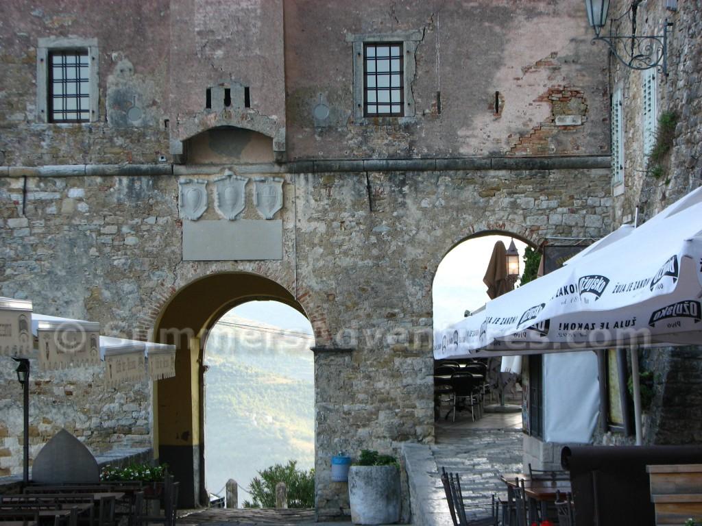 Motovun Croatia Arch