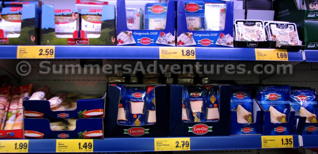 cheese in lidl