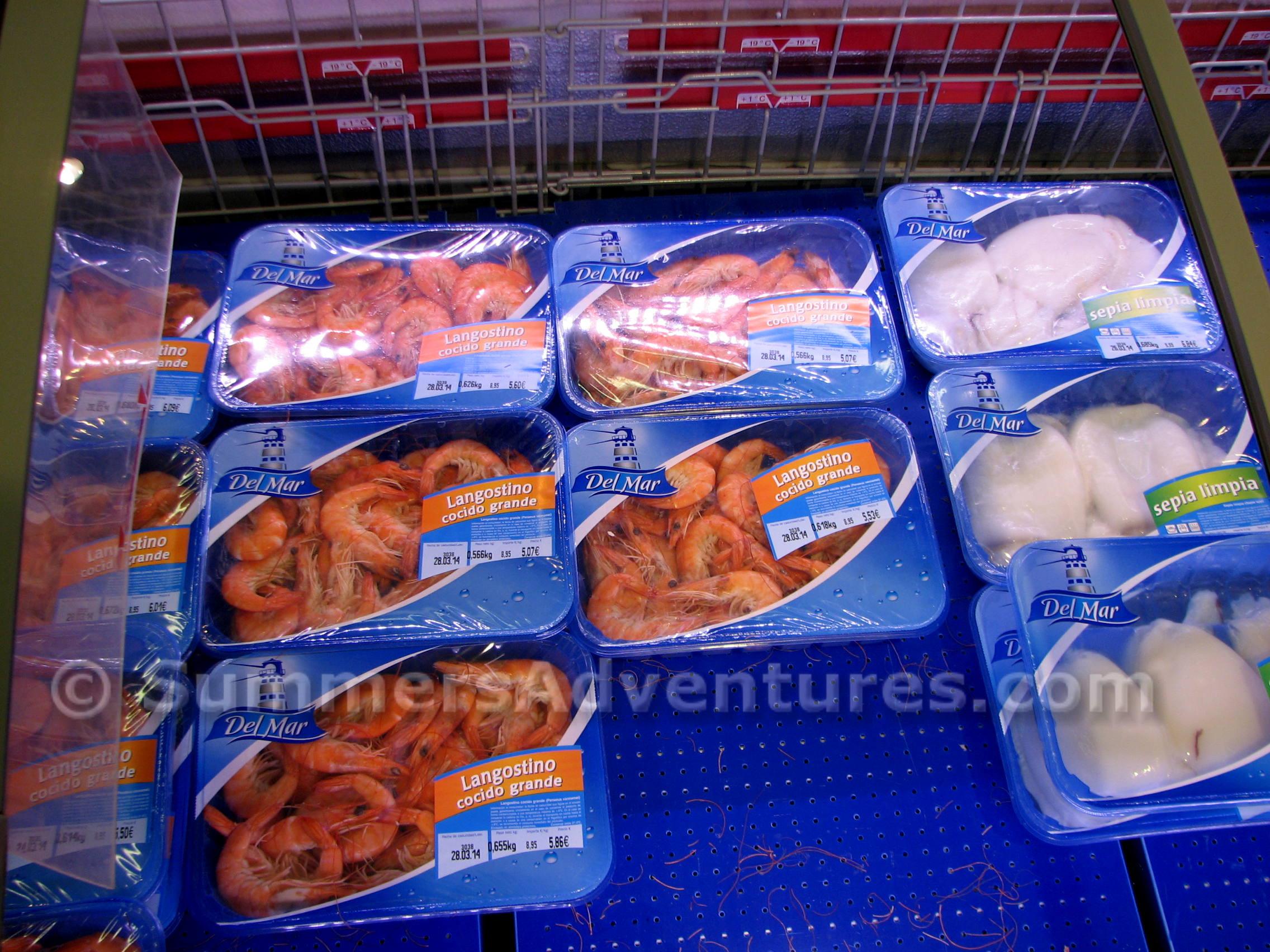Lidl Shrimps
