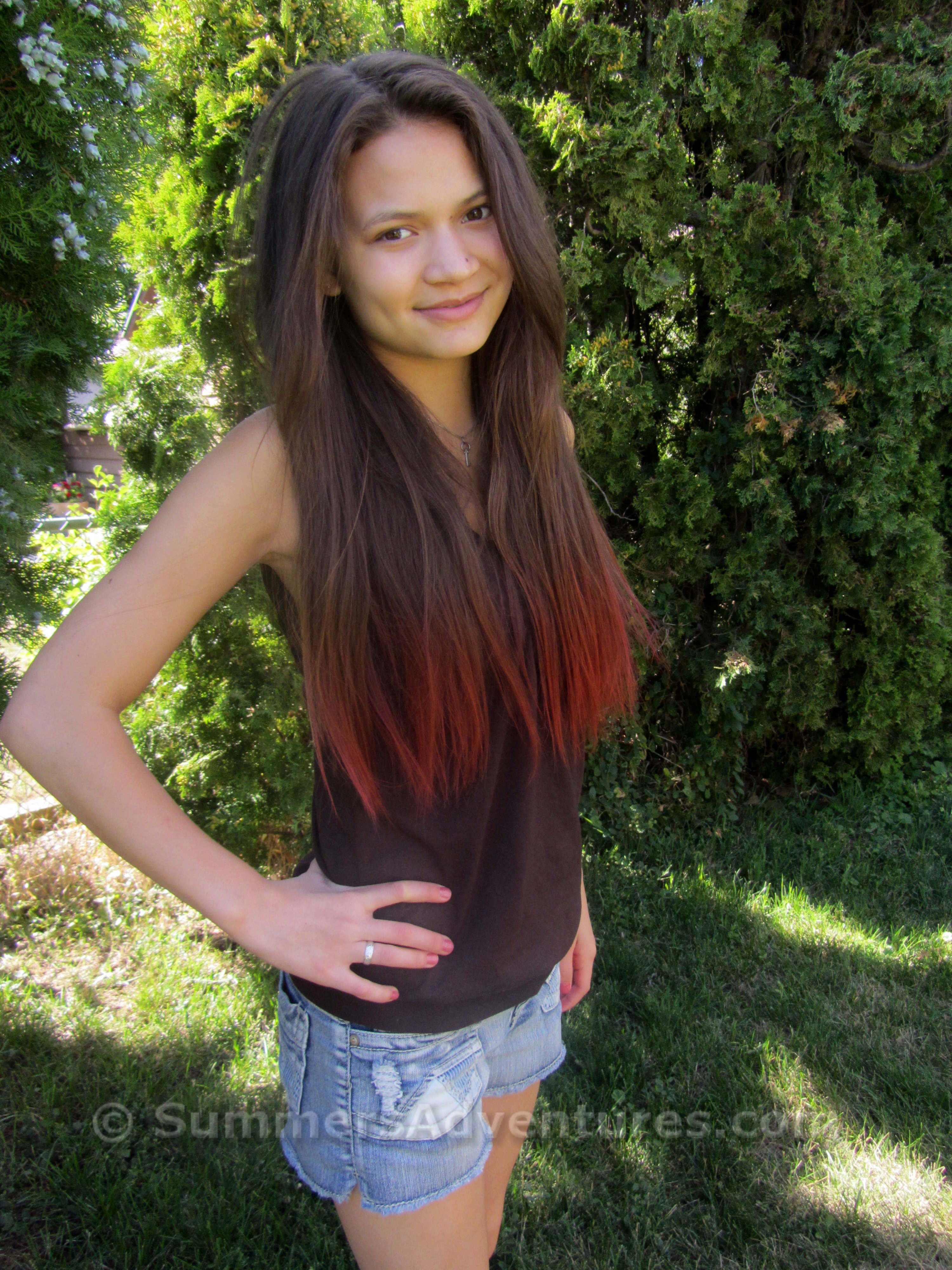How to dye your hair with Kool-Aid | Summer\'s Adventures