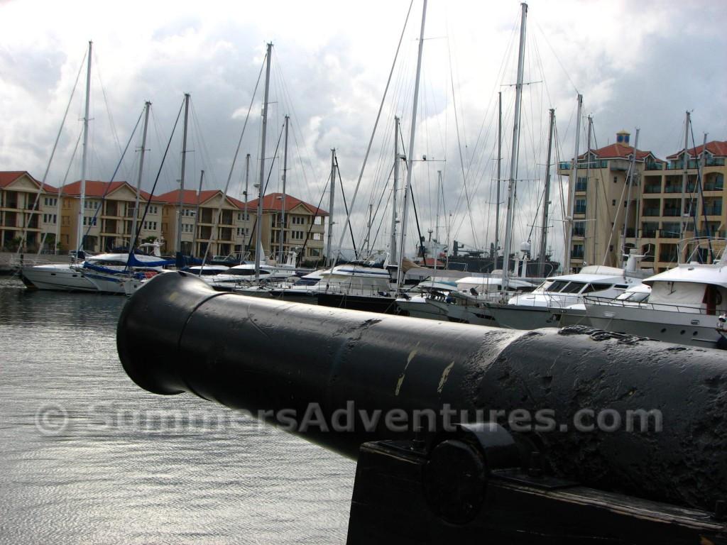 Gibraltar canons