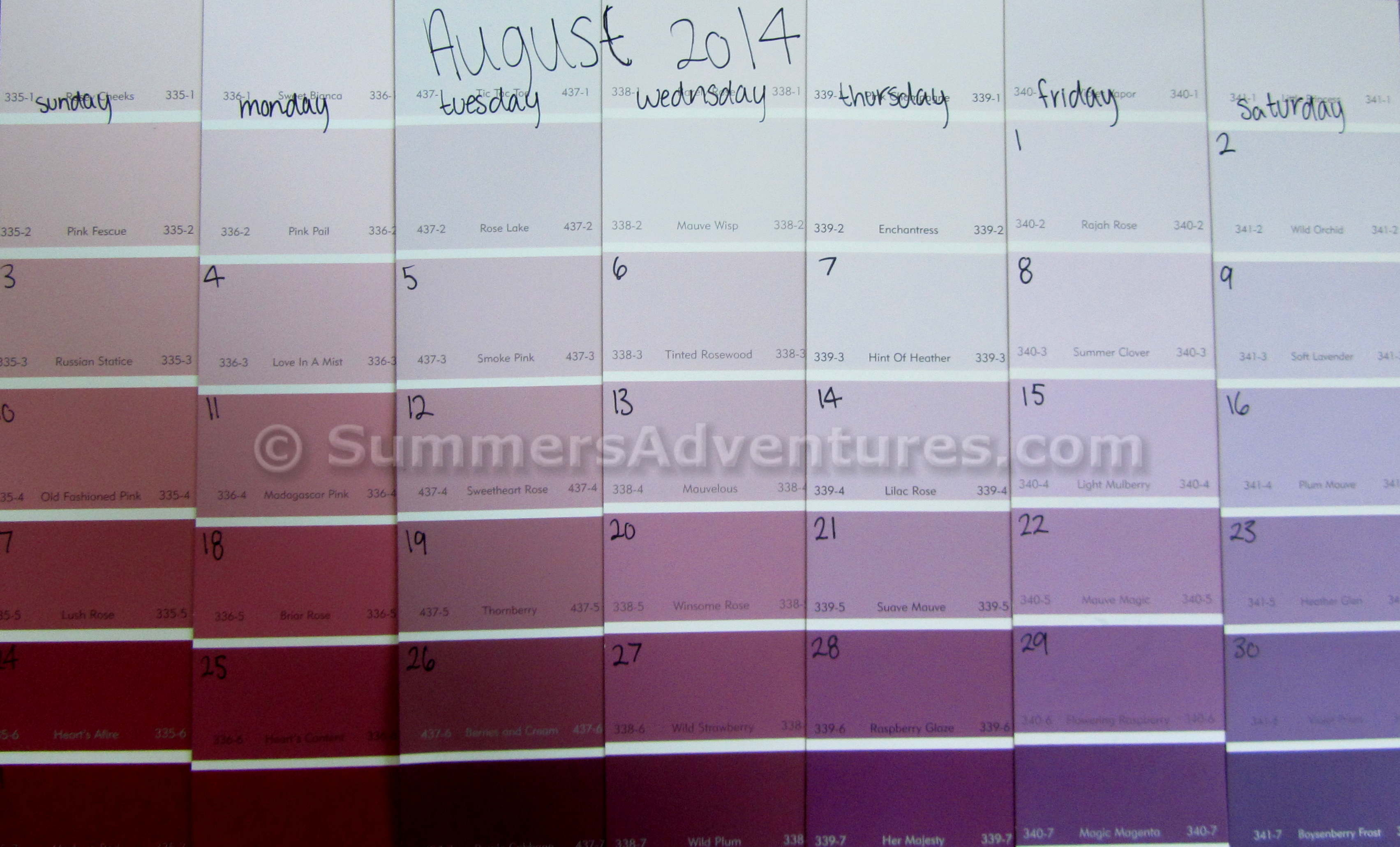 how to make your own calendar summer s adventures