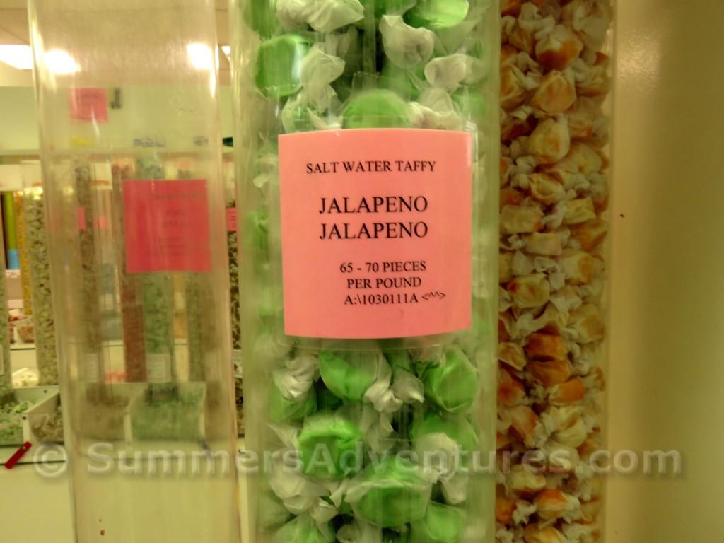 Jalapeno taffy