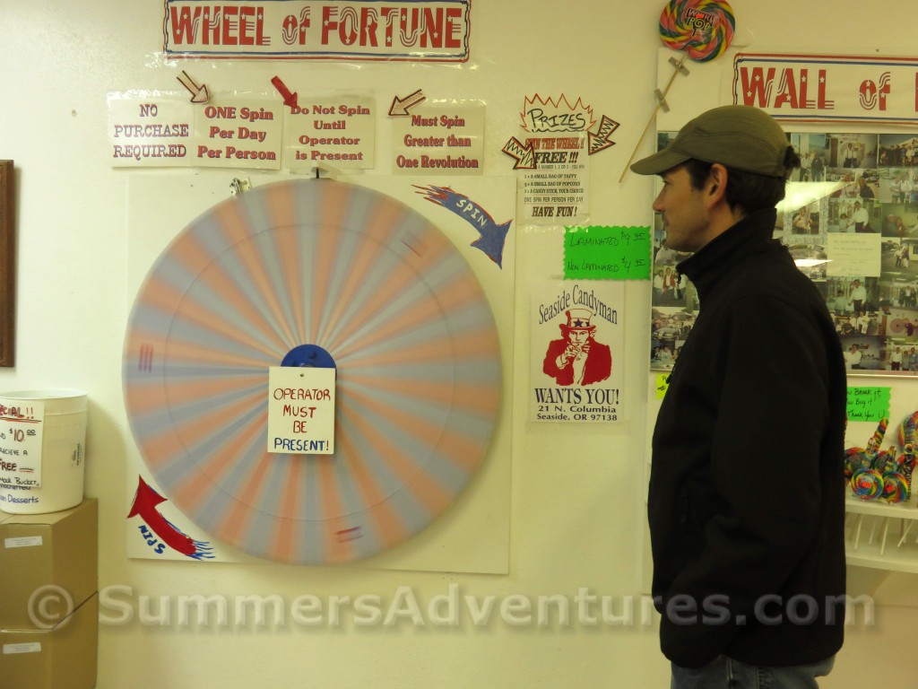 Wheel of fortune candyman