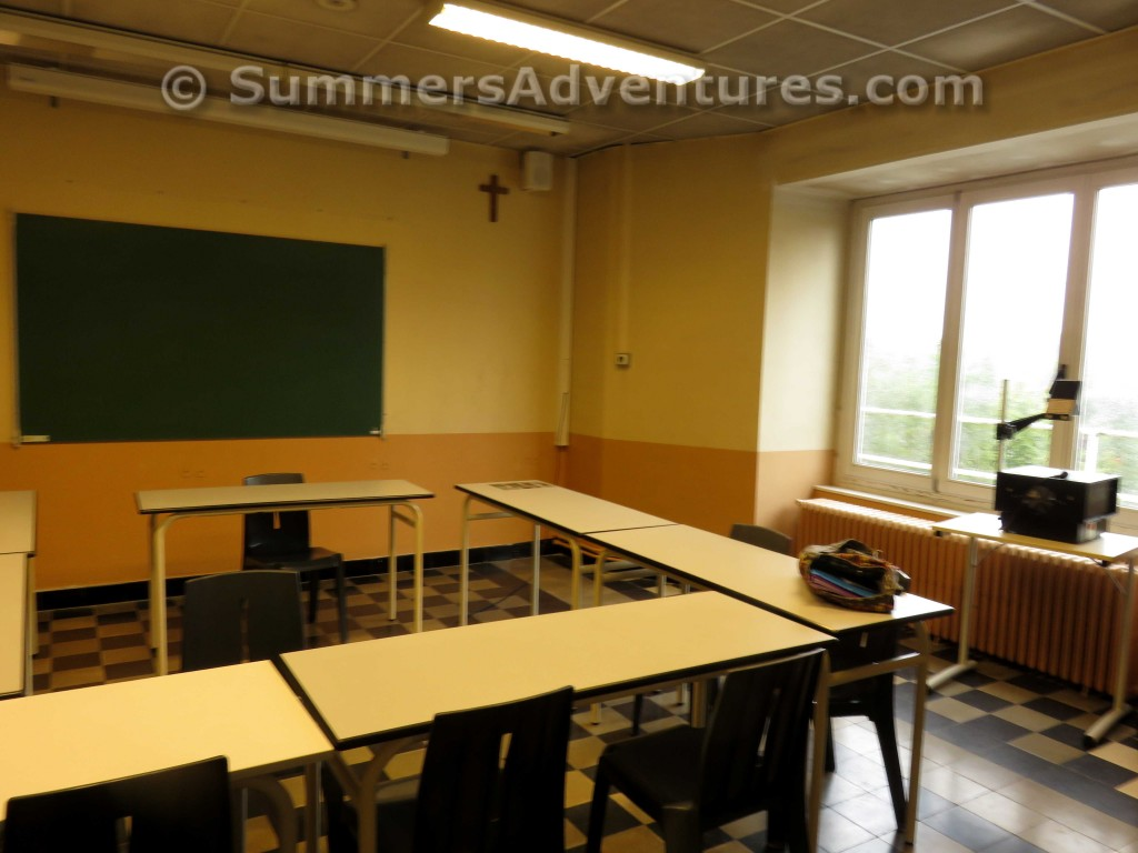 French School Classroom