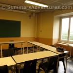 French School Classroom