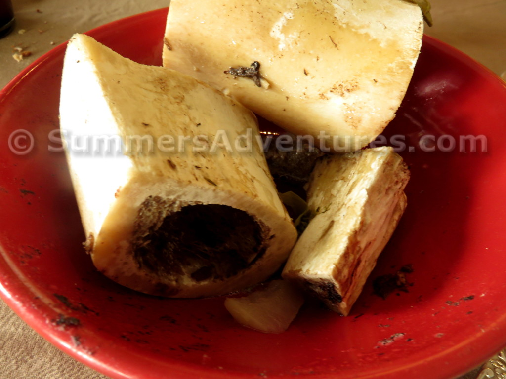 Bone marrow pot au feu