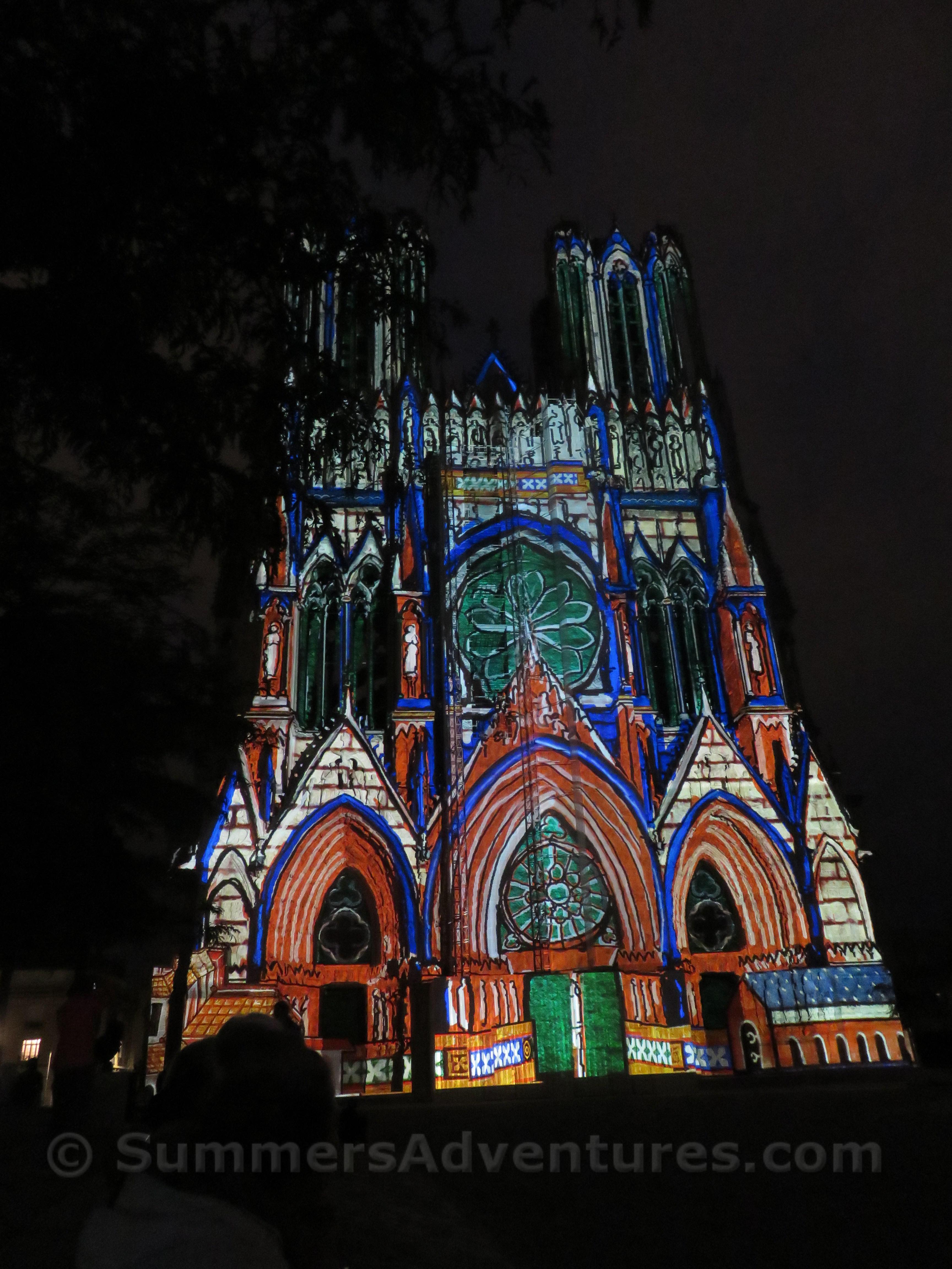 Church lights france
