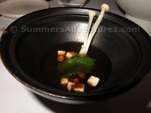 cold miso soup
