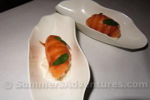 grapefruit sorbet caramel tamarin sauce